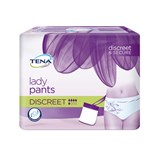 tena lady pants discreet cuecas descartáveis tam l 10unid