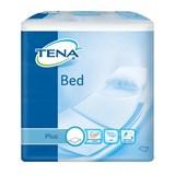tena bed plus resguardos descartáveis para cama 90x60cm 30unid