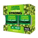 pack green coffee strong café verde 2x60cáps