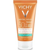 ideal soleil emulsão toque seco spf50 50ml