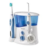 waterpik complete care irrigador oral e escova dentária sónica wp-900