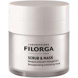 filorga scrub e mask máscara esfoliante oxigenante rejuvenescedora da pele 55ml