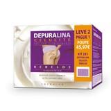 depuralina stubborn cellulite cream monodoses 2x30sachets of 10ml