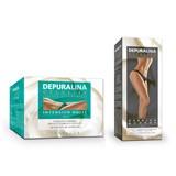 depuralina celulite intensivo noite 500ml oferta celulite barriga e coxas 250ml