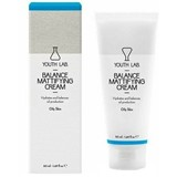 youth lab balance moisture cream creme regulador de sebo pele oleosa 50ml