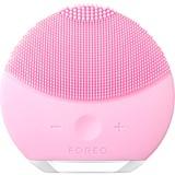 foreo luna mini escova de limpeza facial compacta todo tipo pele petal pink