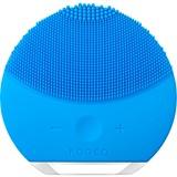 foreo luna mini escova de limpeza facial compacta todo tipo pele tourquoise blue