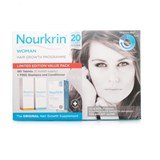 nourkrin nourkrin woman treatment 180capsules offer shampoo 150ml and conditioner 150ml
