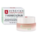 erborian 7 herbs scrub for lips esfoliating with smoothing effect 7ml