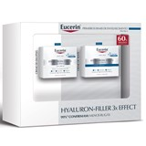 eucerin coffret hyaluron-filler loção micelar 200ml + creme dia 50ml + creme noite 50ml