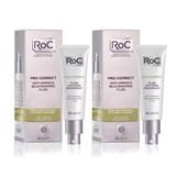 roc coffret pro-correct fluído 40ml oferta fluído antirrugas rejuvenescedor 40ml