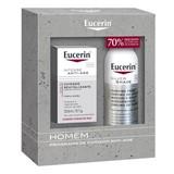 eucerin men intensive anti-age creme tripla acção 50ml oferta espuma barbear 150ml