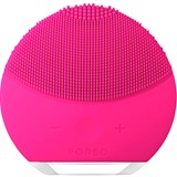 foreo luna mini  2 compact facial cleansing brush all skin type fuchsia