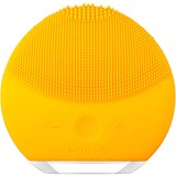 foreo luna mini 2 compact facial cleansing brush all skin type sunflower yellow