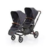 zoom 2017 carrinho de passeio para bebés gémeos cor street