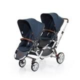 zoom 2017 carrinho de passeio para bebés gémeos cor admiral