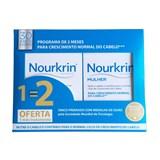 nourkrin nourkrin woman suplemento antiqueda capilar 2x60cápsulas