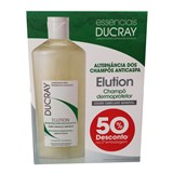 ducray elution dermo-protective shampoo 300ml + 300ml 50% discount on the 2nd unit
