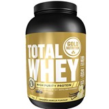 gold nutrition total whey proteína sabor baunilha 1kg
