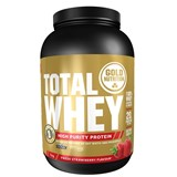 gold nutrition total whey protein strawberry taste 1kg