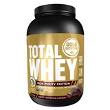 gold nutrition total whey proteína sabor chocolate 1kg