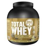 gold nutrition total whey proteína sabor baunilha 2kg
