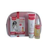 mustela maternity stretch marks prevention fragrant cream 150ml gift oil 105ml   purse