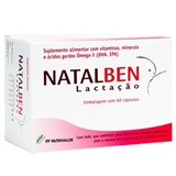 natalben lactation maternity supplement 60caps