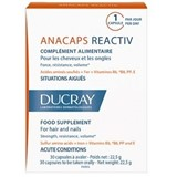 ducray anacaps reactiv food suplement for reactional hair loss 30 capsules