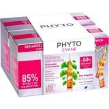 phyto phytocyane ampolas anti-queda feminina 2x12ampolas de 7,5ml