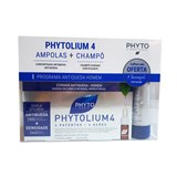 phytolium 4 anti-queda severa e hereditária 12ampolas de 3,5ml oferta shampoo