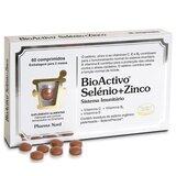 bioactivo selenium+zinc 60tablets