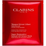 clarins super restorative lifting serum-mask for face and neck 5x30ml