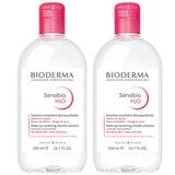 bioderma sensibio h2o solução micelar promo 2x500ml
