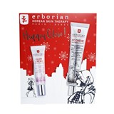 erborian coffret cc cream asian centella spf25 doré (universal) 45ml + glow cream 15ml