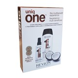 uniqone all in one shampoo côcô 300ml + spray tratamento côcô 150ml