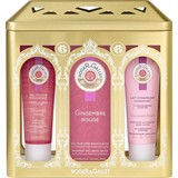coffret gingembre rouge água 100ml + gel douche 50ml + creme corpo 50ml