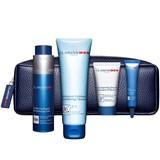 coffret gel rosto 50ml + esfoliante 125ml + creme olhos 10ml + shampoo 30ml