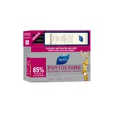 pack phytocyane serum women hair loss 12ampoules of 7,5ml + shampoo 200ml