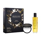 gift set beauty elixir for hair with argan oil 100ml gift compact moirror
