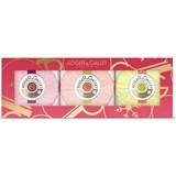 trio sabonetes | fleur d'osmanthus 100g+fleur de figuier 100g+gingembre 100g