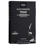 black diamond ionto-lift contorno de lábios rugas profundas 4 patches