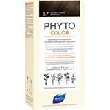 phytocolor coloração permanente 6.7 louro escuro marron