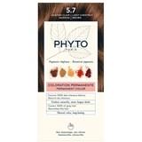 phytocolor coloração permanente 5.7 castanho claro marron