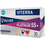 mulher platinum 55+ suplemento multivitamínico diário 30comp