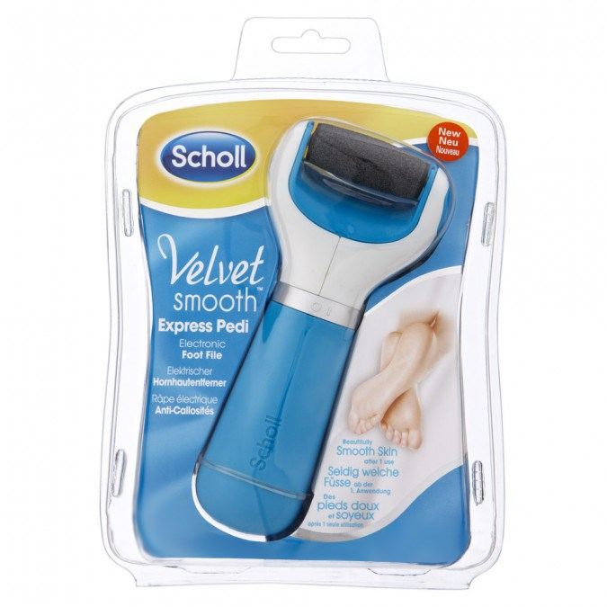 how to clean scholl velvet smooth