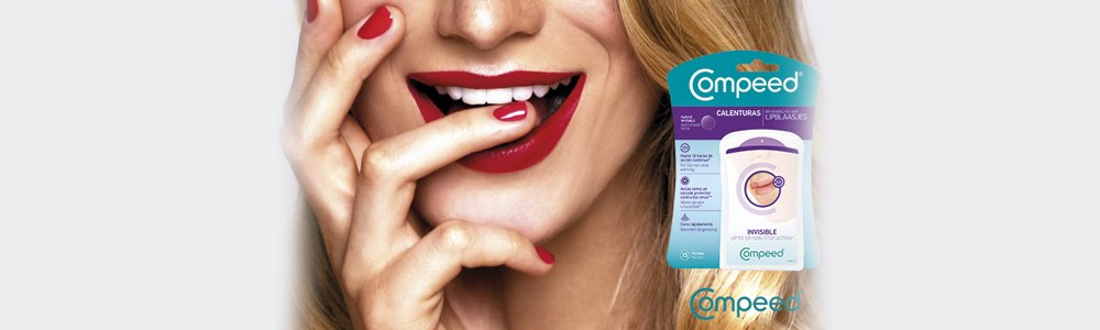 Compeed - Total care invisible and night cold sore patchs
