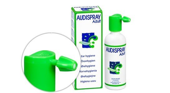 audispray adulto limpeza auricular