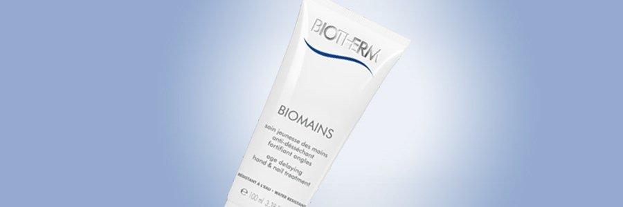 biotherm biomains hand cream