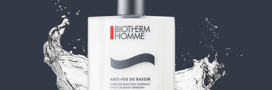 biotherm homme anti feu du rasoir